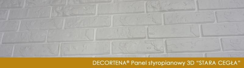 Decortena Styropianowe Panele Dekoracyjne 3d Stara Cegła